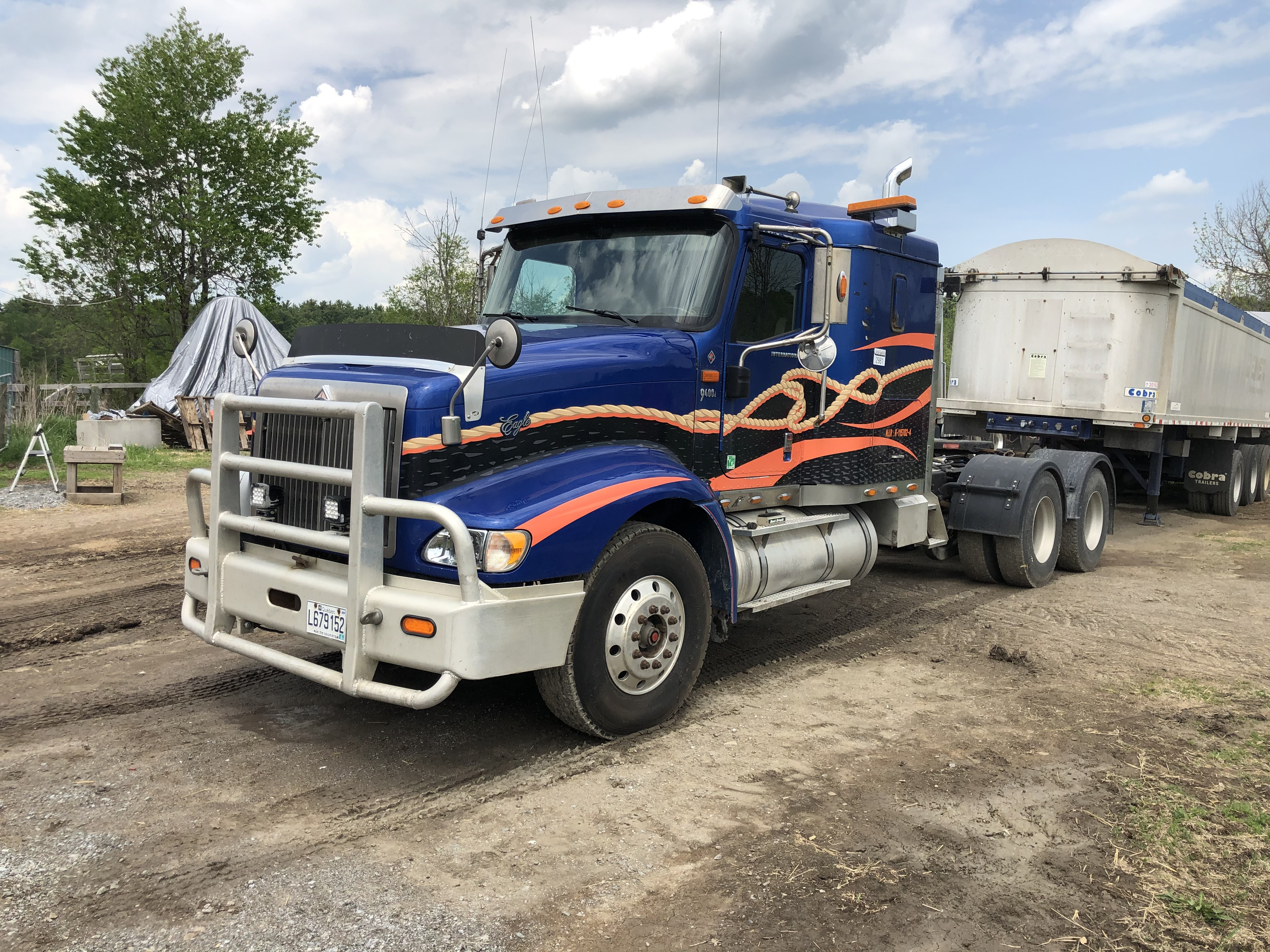 2007 International 9400 Wet line kit